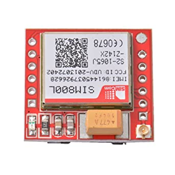 UK NEW SIM800L GPRS GSM Module Arduino Compatible Card Board Quad-Band Onboard