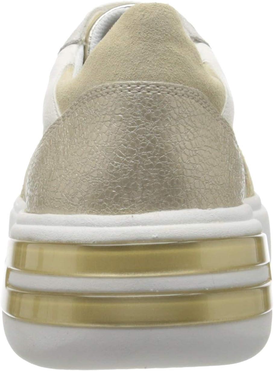 Geox Damen D Ottaya A Sneaker Beige Cream Sand C0086