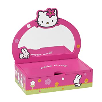 67e07836c Hello Kitty - 711359 - Furniture and Decoration - Four-Colour Box -  Jewellery Box: Amazon.co.uk: Toys & Games