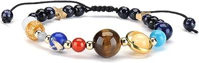 naturelle galaxie bracelet neuf planètes des bracelets système solaire avec
