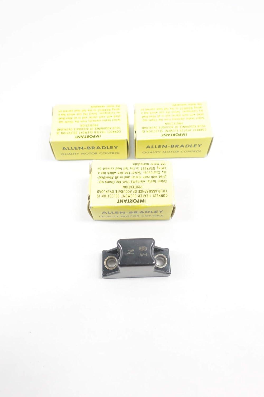 LOT of 3 ALLEN BRADLEY N18 Overload Relay Heater Element