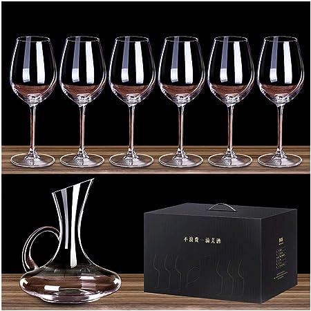 CHQYY Verres à vin sans tige verre de vin rouge Bordeaux 7