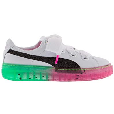 17e422c4883 Puma x Sophia Webster Women s Platform Candy Princess White Black 366135-01  (Size