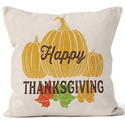 Amazon.com: Happy Thanksgiving Day with Lettering and s ...