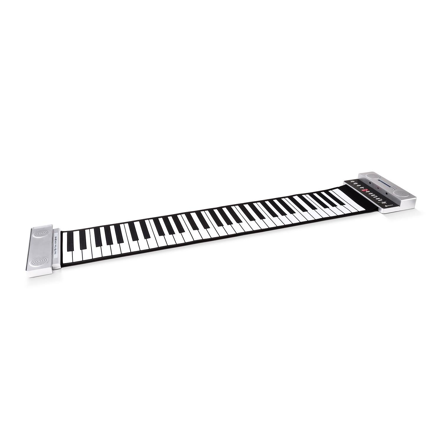 Schubert piano roll up con teclas teclado enrollable funcionamiento con pilas o