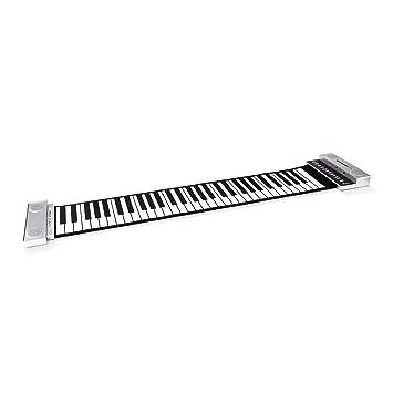 "Schubert - Teclado Musical Midi plegable ""Roll Up"" (61 teclas, 88"
