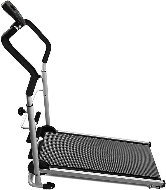 pour la Maison ou Le Bureau Tapis de Marche avec /écran LED JEOBEST Tapis de Course Pliable Courir Sit-ups Manual Tapis de Course