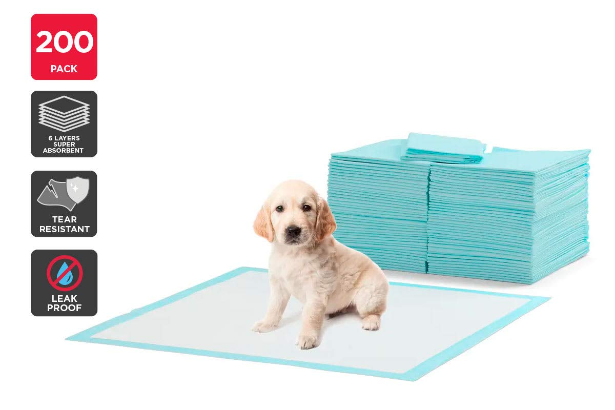 Pawever Pets 200 Pack Puppy Training Pads (bluee)