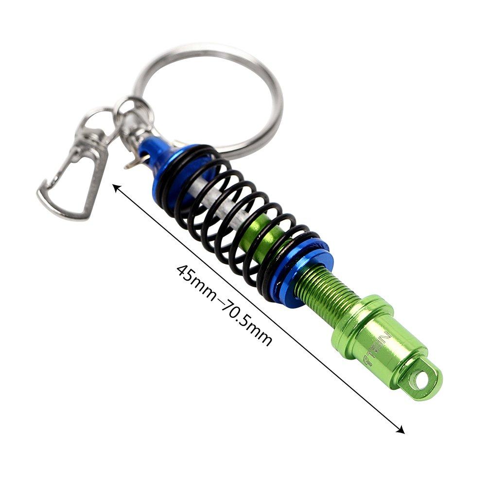 Holdream Llavero para Coche, diseño de Amortiguador (Blue)