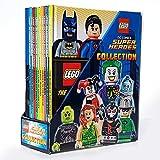 Lego DC Comics Super Heroes Collection Box Set of 10 Books Plus Limited Edition Batman Electrosuit Minifigure