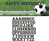 Creative Converting 297966 Sports Fanatic Soccer Giant Party Banner with Stickers, Multicolor