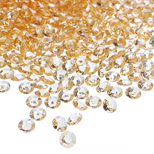 craftjoje 4.5MM 10000pcs Wedding Table Scattering Crystals Acrylic Diamonds Wedding Bridal Shower Party Decorations Vase Fillers (4.5mm, -