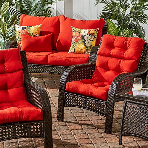 indoor outdoor kitchen dining features high back chair cushion salsa ebay. Black Bedroom Furniture Sets. Home Design Ideas