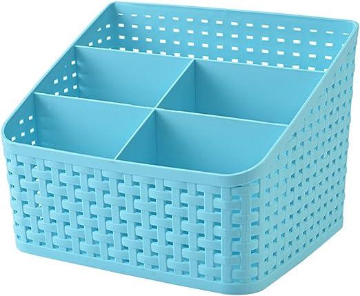 Qearly plástico Caja Decorativa Box – Caja Desktop Stationery – de ...
