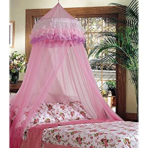 Goplus Princess Bed Canopy, Premium Mosquito Netting Dome...