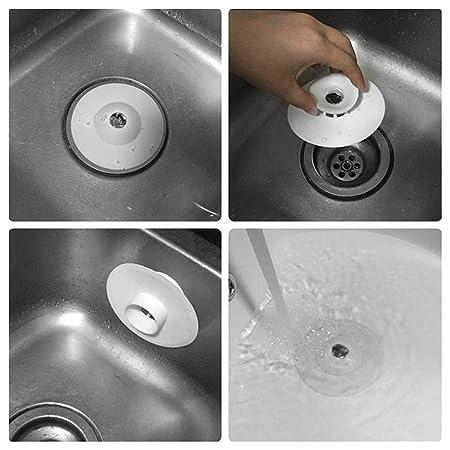 Starter - Tapón de desagüe de silicona para el suelo, desodorante 2 en 1: Amazon.es: Salud y cuidado personal
