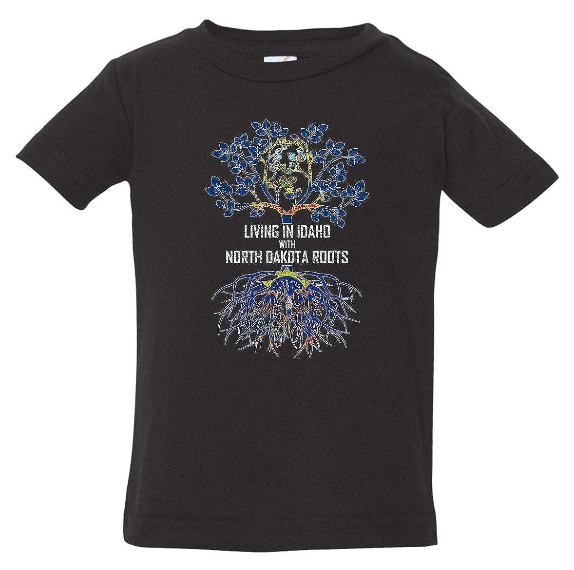 Tenacitee Babys Living in Idaho North Dakota Roots Shirt