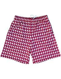 Seminoles Houndstooth Lacrosse Shorts