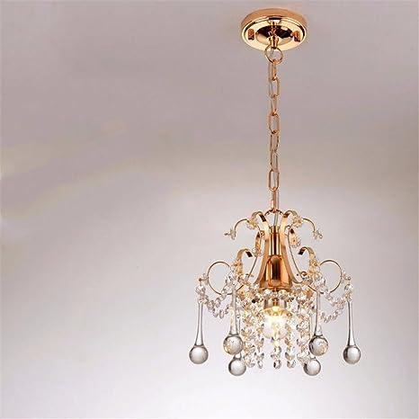 Lámpara de techo colgante,en forma cristalina de luz ...