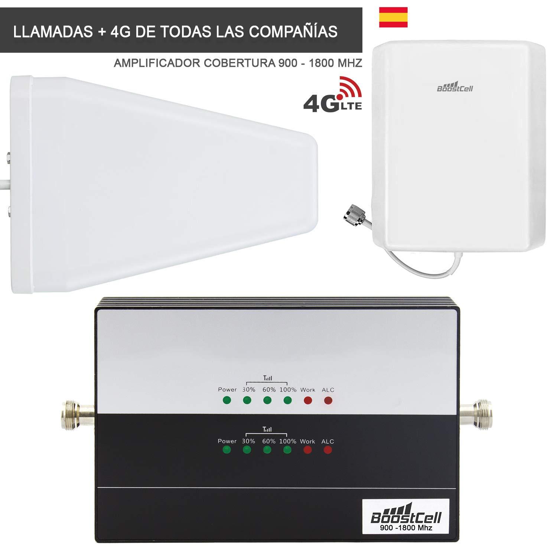 Boostcell Amplificador de Cobertura 900-1800 MHz XL: Amazon.es: Electrónica