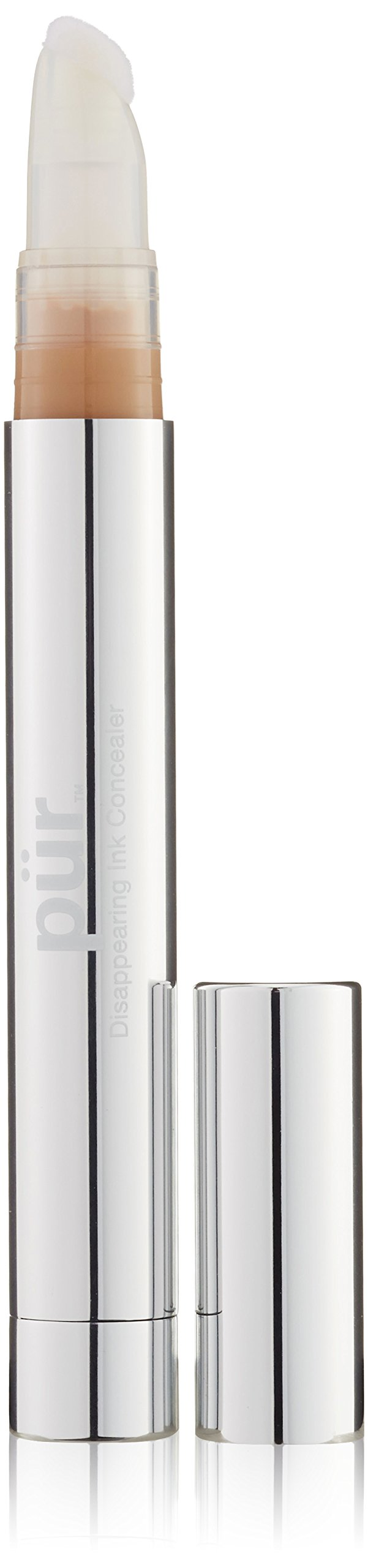 PÜR Disappearing Ink 4-in-1 Concealer Pen in Light, 0.12 Fluid Ounce