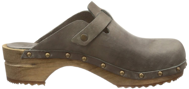 Sanita Kristel open Damen Clogs & Pantoletten Grau (Grey 20) 35: Amazon.de:  Schuhe & Handtaschen
