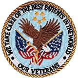 "Veterans Affairs Medical Centers patch - Small Version - ""We Take Care of the Best Patients in the World - Our Veterans"""