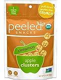 Peeled Organic Snacks, Apple Clusters, Cinnamon, 2.1 Ounce