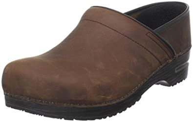 Sanita Men's Professional Oil Clog,Antique Brown,47 EU ( US Men's 13.5-