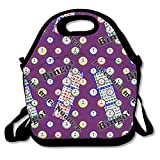 Bingo I Need One More Number Lunch Tote Bag Bags Awesome Lunch Handbag Lunchbox Box For School Work Outdoor