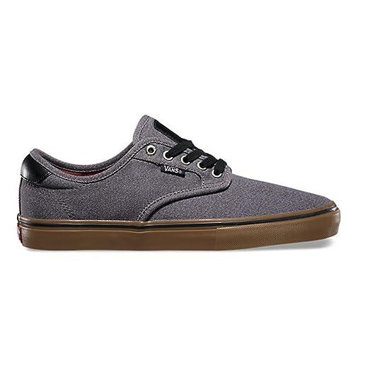 UK Free delivery Vans Chima Ferguson Pro Mens Shoes Covert Twill BlackGum
