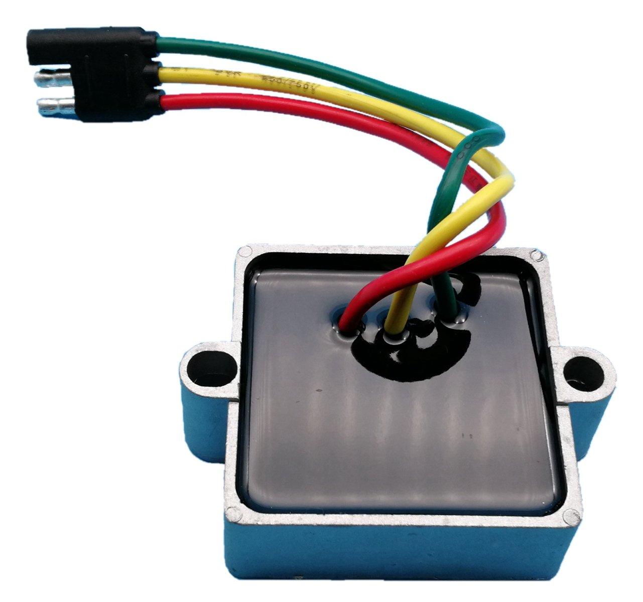 Tuzliufi Voltage Regulator Replace Polaris Snowmobile Classic Trail Touring Widetrak XC SP Edge Supersport RMK Rush IQ Switchback 340 500 550 600 700 800 2002-2015 Repl 4010794 4010355 4011809 New Z46 Generic