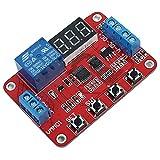 Icstation 12V 1 Channel Digital Voltage Comparator Switch Under Over Voltage Monitor Relay DC 0V-100V