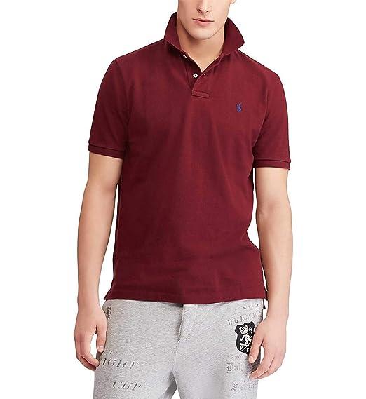 Ralph Lauren - Polo - para Hombre Rojo XL: Amazon.es: Ropa y ...