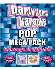 Party Tyme Karaoke: Pop Mega Pack [8 Discs]