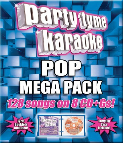 (Party Tyme Karaoke - Pop Mega Pack (128-Song Mega Pack) [8 CD])