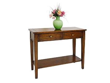 Wandtisch im Antik Stil Massivholz: Amazon.de: Küche & Haushalt