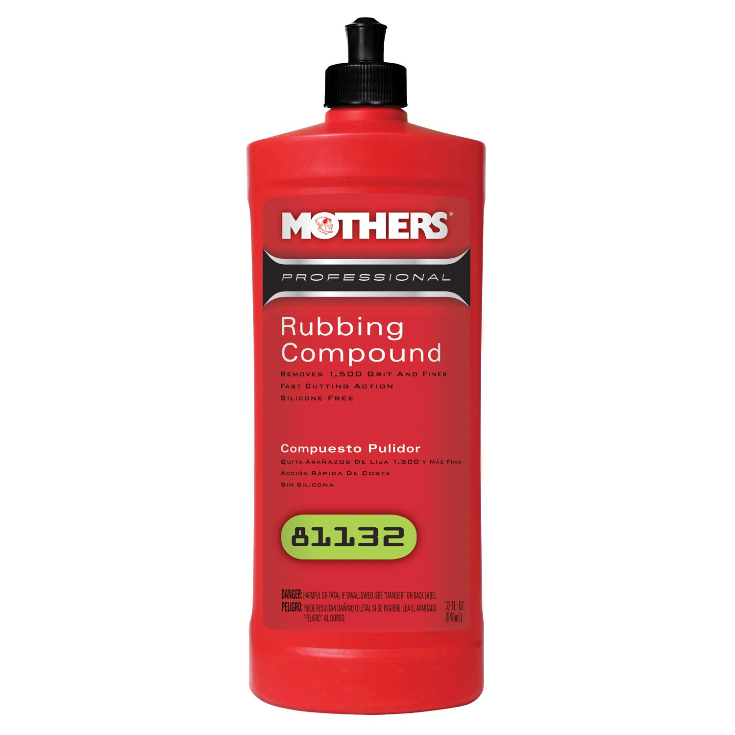 Mothers 81132 Professional Rubbing Compound - 32 oz.