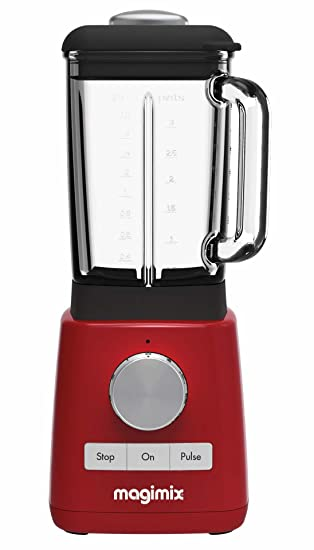 Magimix 11613 Batidora de vaso 1.8L 1200W Rojo - Licuadora (Batidora de vaso, 1,8 L, Rojo, 1200 W): Amazon.es: Hogar