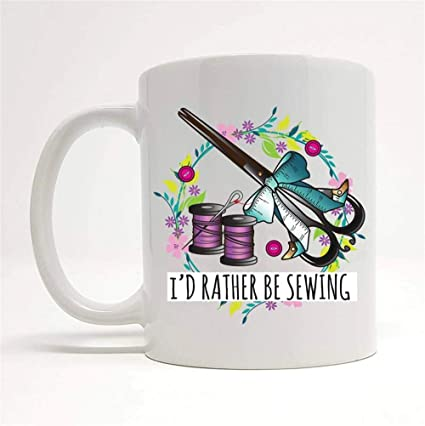 Crafty Person Mug Mug Gift Idea Sewing Machine Gifts Crafty Person Sewing Mug Sewing Gift Ideas Sewing Related Present Gift For Her 11oz Ceramic Coffee Mug Unique Gift Amazon De Kuche