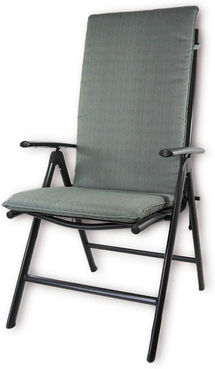 120x50x8 cm Hochlehner Nordje Gartenm/öbelauflage Taupe Sitzkissen Outdoor Top Qualit/ät Produkt