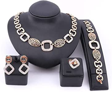 Gold plated accessories set