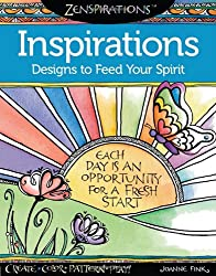 Zenspirations(TM) Coloring Book Inspirations Designs to Feed Your Spirit: Create, Color, Pattern, Play!