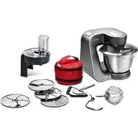 Bosch mum59N26de Robot de cuisine Home Professional, Bol Mélangeur, 3D Système Mélangeur, 7niveaux de commutation, 1000W, Mystic Noir/Acier inoxydable brossé
