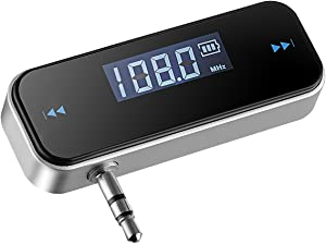 VicTsing 3.5mm in-car FM Transmitter Radio Adapter for iPod iPad iPhone 6 5S 5C 5 4S 4 Samsung Galaxsy S4 S3 Note HTC Sony LG BlackBerry Nokia Motorola,Tablet,MP3/MP4 Players Other Audio Device