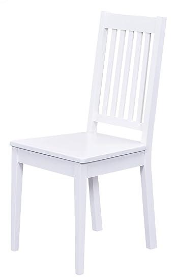 H24living Esszimmerstühle 2er Set Massiv Holz Küchen Stühle