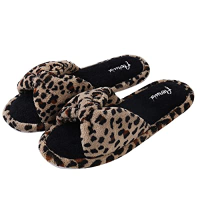 Aerusi Cozy Women's Splash Spa Bedroom Home Slide Slipper House Slipper | Slippers