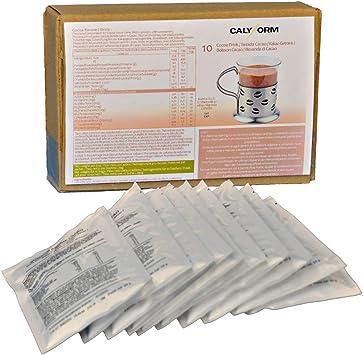 CALYFORM Batidos Proteínas para dieta sabor Cacao | Bebida proteica en polvo saciante | Proteína dietética de alta calidad y aporte en aminoácidos ...