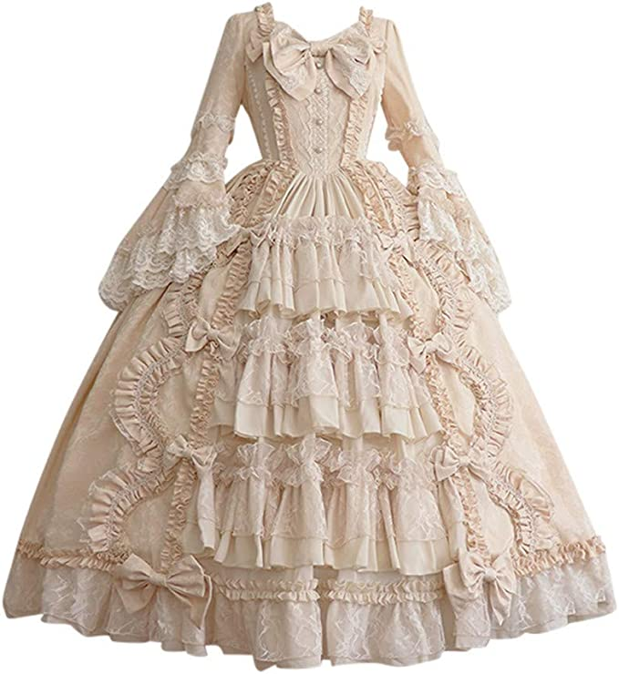 Vestiti Eleganti Rinascimento.Minxinwy Vestito Donna Eleganti Carnevale Costume Da Regina