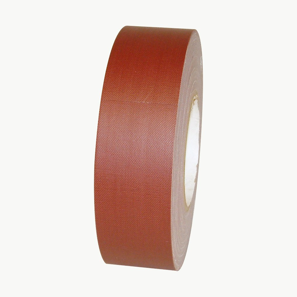 "JVCC J90 Polyethylene Coated Cloth Low Gloss Gaffer-Style Duct Tape, 36 lbs/in Tensile Strength, 60 yards Length x 2"" Width, Burgundy"